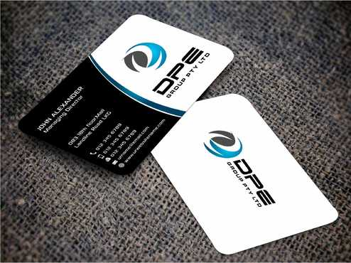 DPE GROUP PL Business Cards and Stationery  Draft # 217 by Dawson