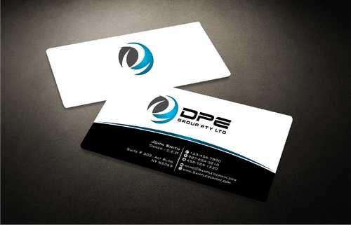DPE GROUP PL Business Cards and Stationery  Draft # 223 by Dawson