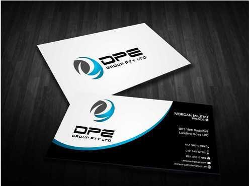 DPE GROUP PL Business Cards and Stationery  Draft # 231 by Dawson