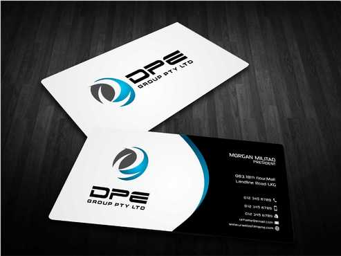 DPE GROUP PL Business Cards and Stationery  Draft # 232 by Dawson