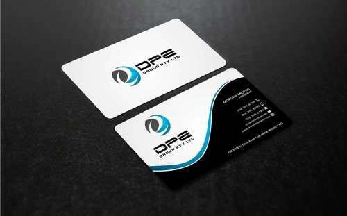 DPE GROUP PL Business Cards and Stationery  Draft # 233 by Dawson
