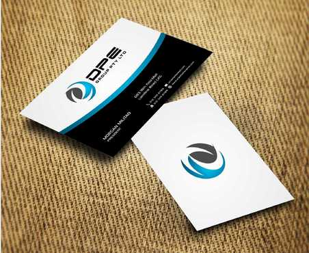 DPE GROUP PL Business Cards and Stationery  Draft # 234 by Dawson