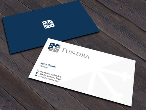 TUNDRA SA Business Card Business Cards and Stationery  Draft # 215 by Xpert