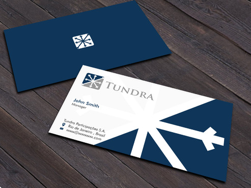 TUNDRA SA Business Card Business Cards and Stationery  Draft # 216 by Xpert