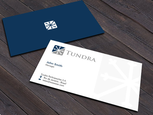 TUNDRA SA Business Card Business Cards and Stationery  Draft # 217 by Xpert