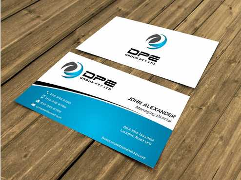 DPE GROUP PL Business Cards and Stationery  Draft # 252 by Dawson