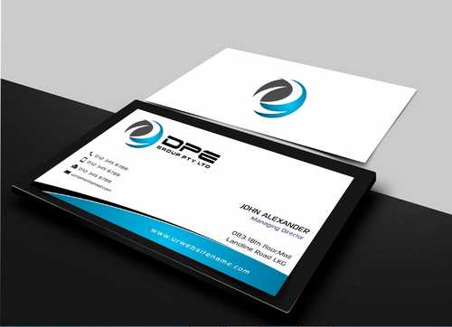 DPE GROUP PL Business Cards and Stationery  Draft # 253 by Dawson