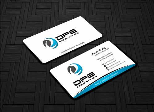 DPE GROUP PL Business Cards and Stationery  Draft # 255 by Dawson