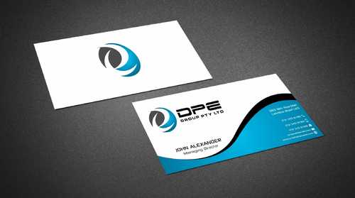 DPE GROUP PL Business Cards and Stationery  Draft # 270 by Dawson