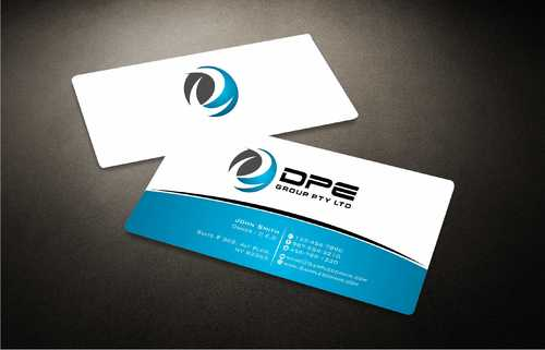 DPE GROUP PL Business Cards and Stationery  Draft # 278 by Dawson