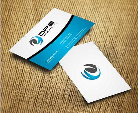 DPE GROUP PL Business Cards and Stationery  Draft # 289 by Dawson