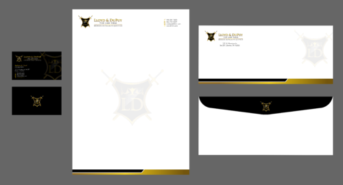 combined with stationery & logo Business Cards and Stationery  Draft # 307 by Xpert