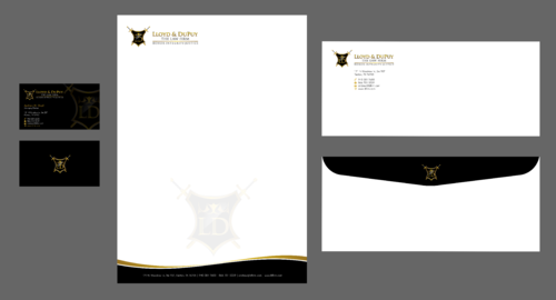 combined with stationery & logo Business Cards and Stationery  Draft # 309 by Xpert