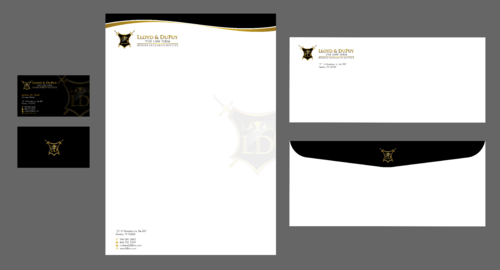 combined with stationery & logo Business Cards and Stationery  Draft # 310 by Xpert