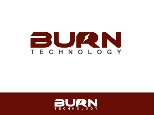 BURN TECHNOLOGY A Logo, Monogram, or Icon  Draft # 18 by Shoaibali