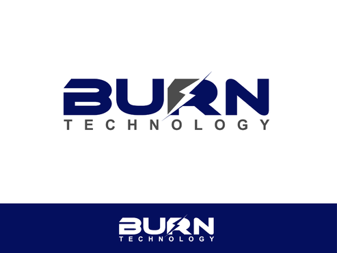 BURN TECHNOLOGY A Logo, Monogram, or Icon  Draft # 19 by Shoaibali