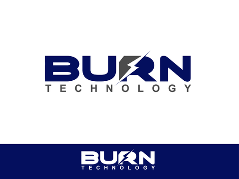 BURN TECHNOLOGY A Logo, Monogram, or Icon  Draft # 20 by Shoaibali
