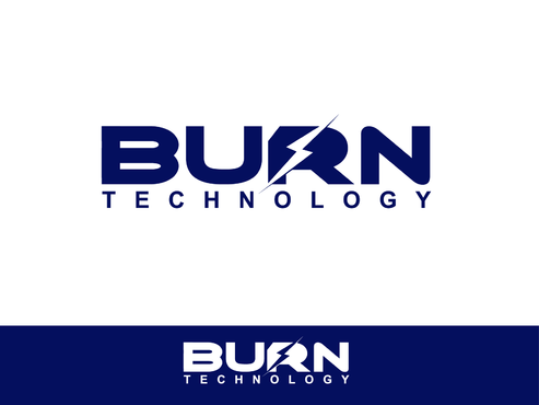 BURN TECHNOLOGY A Logo, Monogram, or Icon  Draft # 23 by Shoaibali