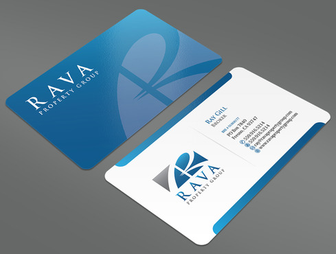 Rava Property Group Business Cards and Stationery  Draft # 32 by ArtworksKingdom