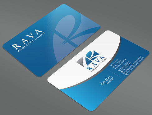Rava Property Group Business Cards and Stationery  Draft # 37 by ArtworksKingdom