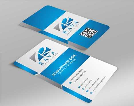 Rava Property Group Business Cards and Stationery  Draft # 133 by Dawson