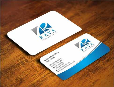 Rava Property Group Business Cards and Stationery  Draft # 175 by Dawson