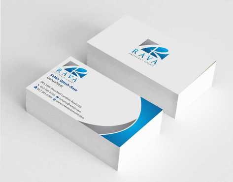 Rava Property Group Business Cards and Stationery  Draft # 176 by Dawson