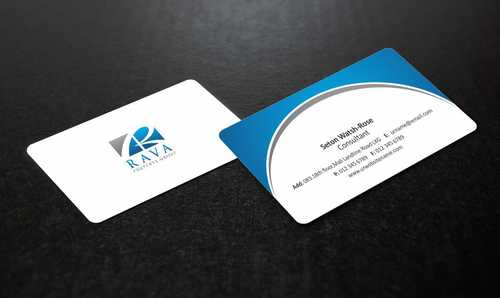 Rava Property Group Business Cards and Stationery  Draft # 177 by Dawson