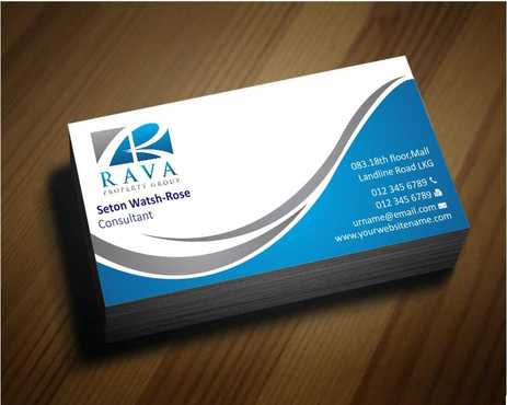 Rava Property Group Business Cards and Stationery  Draft # 178 by Dawson