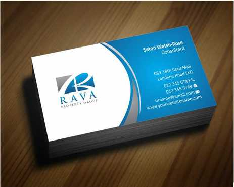 Rava Property Group Business Cards and Stationery  Draft # 179 by Dawson