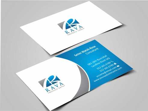 Rava Property Group Business Cards and Stationery  Draft # 180 by Dawson