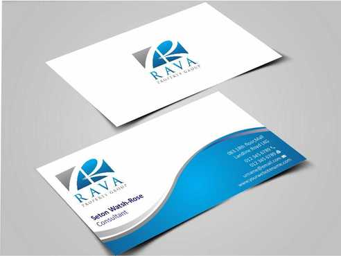 Rava Property Group Business Cards and Stationery  Draft # 181 by Dawson
