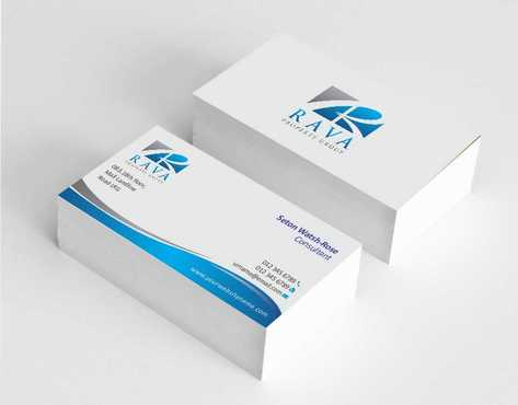 Rava Property Group Business Cards and Stationery  Draft # 182 by Dawson