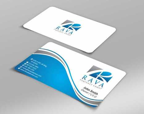 Rava Property Group Business Cards and Stationery  Draft # 183 by Dawson