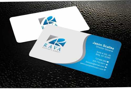 Rava Property Group Business Cards and Stationery  Draft # 185 by Dawson