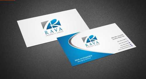 Rava Property Group Business Cards and Stationery  Draft # 187 by Dawson