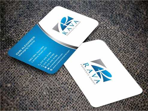 Rava Property Group Business Cards and Stationery  Draft # 188 by Dawson