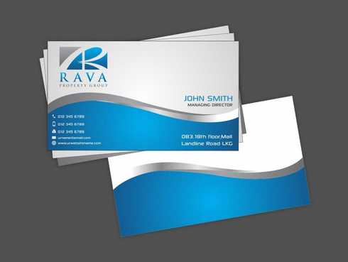 Rava Property Group Business Cards and Stationery  Draft # 190 by Dawson