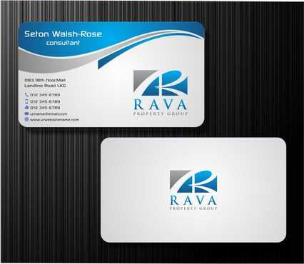 Rava Property Group Business Cards and Stationery  Draft # 191 by Dawson