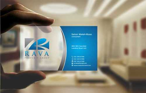 Rava Property Group Business Cards and Stationery  Draft # 194 by Dawson