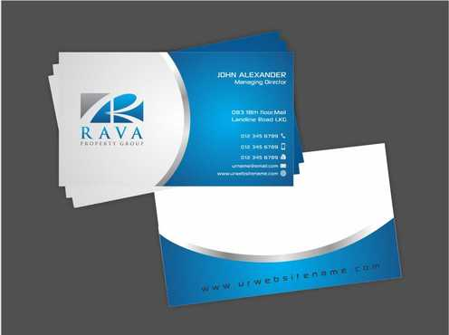 Rava Property Group Business Cards and Stationery  Draft # 195 by Dawson