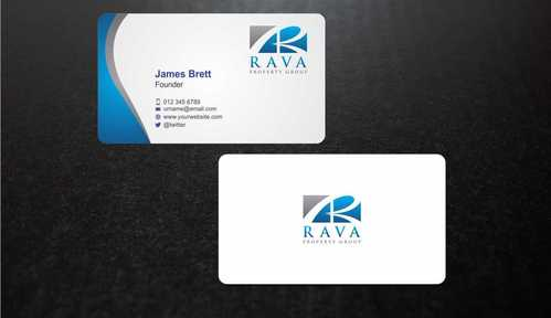 Rava Property Group Business Cards and Stationery  Draft # 196 by Dawson