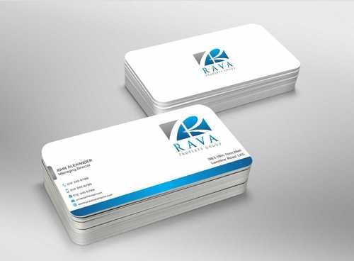 Rava Property Group Business Cards and Stationery  Draft # 199 by Dawson