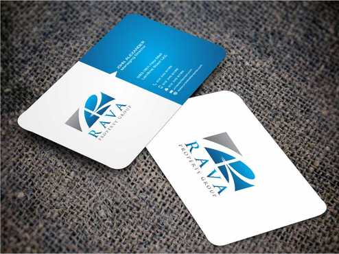 Rava Property Group Business Cards and Stationery  Draft # 200 by Dawson