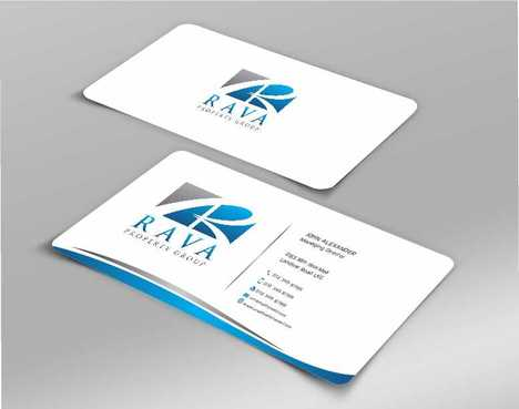 Rava Property Group Business Cards and Stationery  Draft # 201 by Dawson