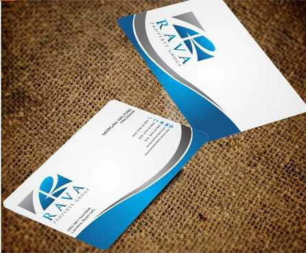 Rava Property Group Business Cards and Stationery  Draft # 202 by Dawson