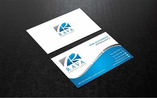 Rava Property Group Business Cards and Stationery  Draft # 203 by Dawson