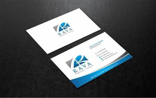 Rava Property Group Business Cards and Stationery  Draft # 205 by Dawson