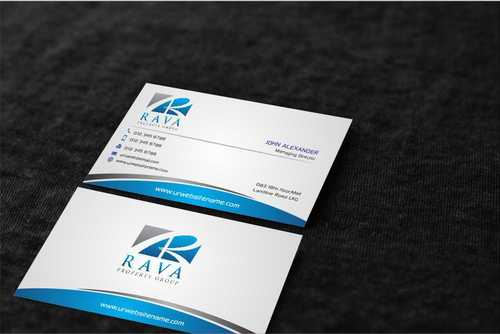 Rava Property Group Business Cards and Stationery  Draft # 206 by Dawson