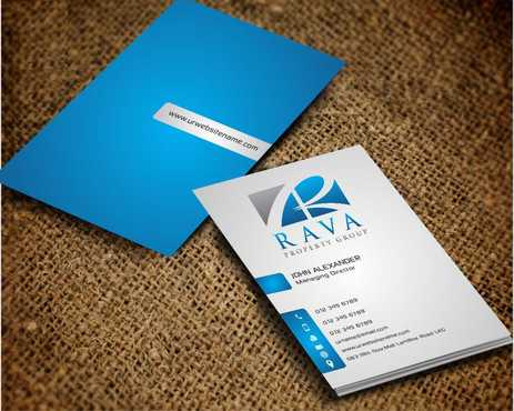 Rava Property Group Business Cards and Stationery  Draft # 207 by Dawson